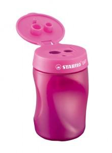 Stabilo Easy Dosenspitzer 3 in 1, für Linkshänder, pink