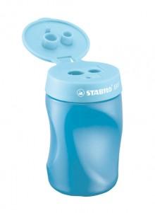 Stabilo Easy Dosenspitzer 3 in 1, für Linkshänder, blau