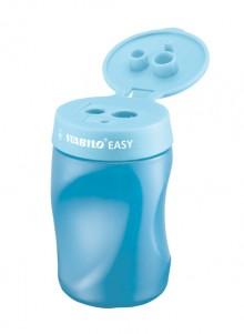 Stabilo Easy Dosenspitzer 3 in 1, für Rechtshänder, blau