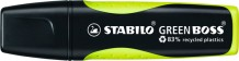 Textmarker Stabilo Green Boss 2-5mm gelb