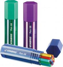 Stabilo Pen 68 Big Pen Box, 20er Box, farbig sortiert