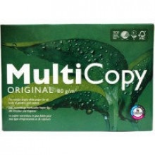 Kopierpapier MultiCopy A3 80g hochweiss (168 CIE Weiße)