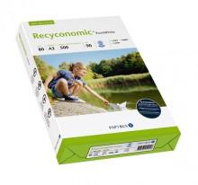 Kopierpapier Recyconomic PureWhite 90er ISO Weiße, CIE110, A3 80g
