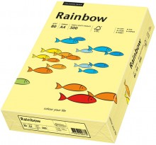 Kopierpapier Inkjet Rainbow A4 80g hellgelb