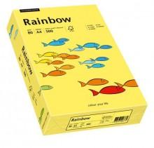 Kopierpapier Inkjet Rainbow A4 80g gelb