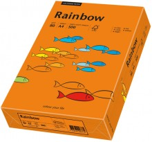Kopierpapier Inkjet Rainbow A4 80g rotorange