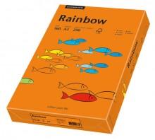 Kopierpapier Inkjet Rainbow A3 80g intensivorange