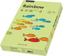 Kopierpapier Inkjet Rainbow A3 80g leuchtend grün