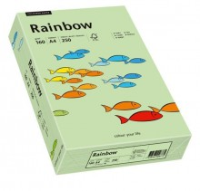 Kopierpapier Inkjet Rainbow A4 160g mittelgrün