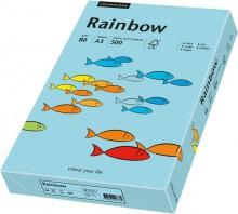 Kopierpapier Inkjet Rainbow A3 80g mittelblau