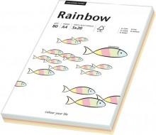 Kopierpapier Inkjet Rainbow A4 80g Pastell-Mix