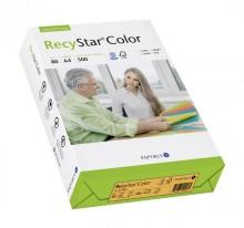 Kopierpapier RecyStar A4, 80 g/qm mandarin, Recycling, für alle Ko-