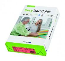 Kopierpapier RecyStar A4, 80 g/qm rot, Recycling, f. Laser-, Inkjet