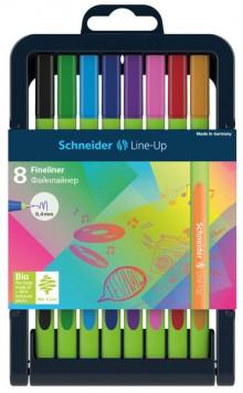Fineliner Line-Up, 8er Box, 0,4 mm