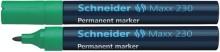 Schneider Permanentmarker 230 Rundspitze 1-3mm, grün