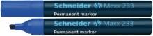 Schneider Permanentmarker 233 Keilspitze 1-5mm, blau