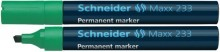 Schneider Permanentmarker 233 Keilspitze 1-5mm, grün