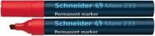 Schneider Permanentmarker 233 Keilspitze 1-5mm, rot
