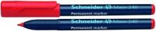 Schneider Permanentmarker 240 Rundspitze 1-2mm, rot,