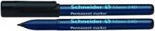 Schneider Permanentmarker 240 Rundspitze 1-2mm, schwarz,