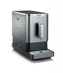 Kaffeevollautomat KV 8090 grau- metallic/schwarz, Slim-Design