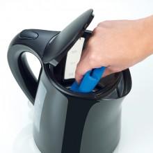 Wasserkocher WK3498, schwarz, 1,5 L kabellos, beidseitige Wasserstands-