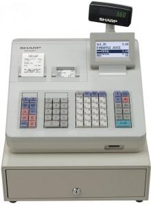 Kasse XE-A307D grau 2 Stationen Thermodruckw.,57,5mm