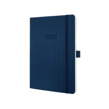 Wochenkalender Conceptum 2020, A5 midnight blue, Softcover (D/GB/F/NL) 2S/1W