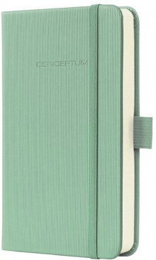 Notizbuch Conceptum, 80g, Hardcover Softwave-Oberfläche, Aqua Green,