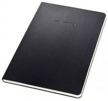 Notizblock Conceptum, 80g, Hardcover, schwarz, 120 Seiten, kariert,