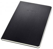 Notizblock Conceptum, 80g, Hardcover, schwarz, 120 Seiten, liniert,