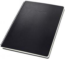 Spiralblock Conceptum, 80g, Hardcover, schwarz, liniert, Quickpocket,