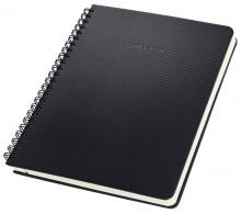 Spiralblock Conceptum, 80g, Hardcover, schwarz, liniert, Quickpocket, DIN A5