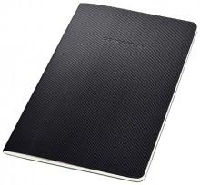 Notizeft Conceptum, 80g, Softcover, schwarz, 64 Seiten, kariert,