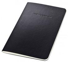 Notizeft Conceptum, 80g, Softcover, schwarz, 64 Seiten, liniert,