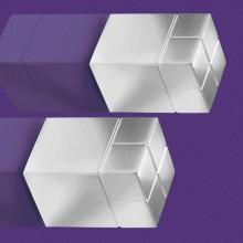 SuperDym-Magnet 20x30x20mm silber vernickelt, stark, hält bis zu 35 BL.