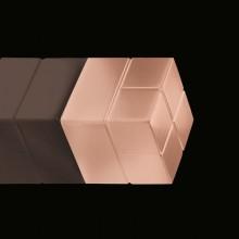 SuperDym-Magnet 20x20x20mm kupfer vernickelt, stark,