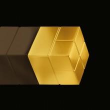 SuperDym-Magnet 20x20x20mm gold vernickelt, stark,