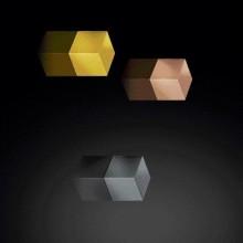 SuperDym-Magnet C5 Strong Set, vernickelt, titangrau, kupfer, gold