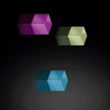SuperDym-Magnet C5 Strong Set, vernickelt, pink, türkis, hellgrün