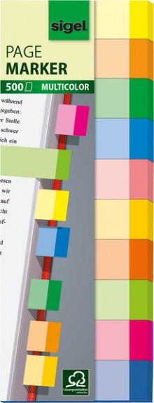 Haftmarker Multicolor 15x50mm 10 Farben