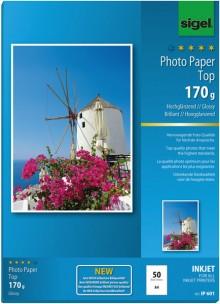 InkJet-Ultra-Photo-Papier A4 170g superweiß hochglänzend