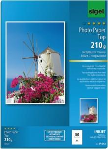 InkJet-Photo-Papier A4 210g hochweiß hochglänzend