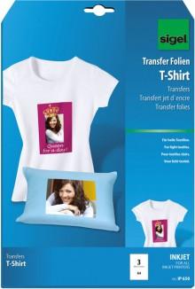 InkJet Transfer T-Shirt Folie A4 für helle Textilien