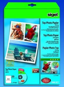 InkJet-Top-Photo-Papier A4 210g hochglänzend hochweiß