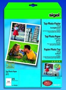 InkJet-Plus-Photo-Papier A4 125g hochglänzend hochweiß
