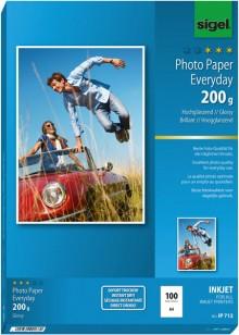 InkJet-Plus-Photo-Papier A4 200g hochglänzend weiß, 100 Blatt