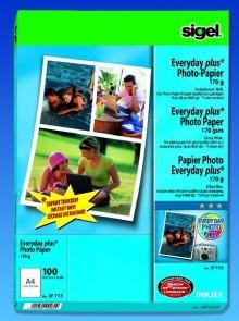 InkJet-Plus-Photo-Papier A4 170g hochglänzend weiß, 100 Blatt