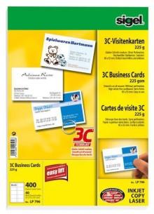 Visitenkarte Multiprint 225g