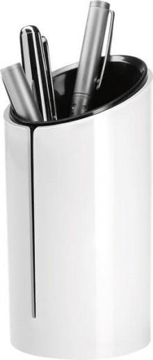 Stifteköcher Eyestyle white Maße: 70x135x70 mm